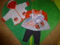 Ensemble Gilet/Veste+Tee-Shirt+Robe+Legging - 45€