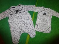 Pyjama + Body - Taille Naissance - 17€