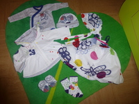 CATIMINI Taille 1 mois - Le lot complet 55€
