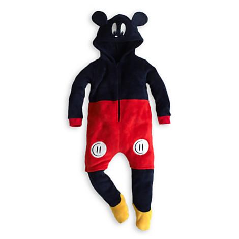 surpyjama gigoteuse mickey mouse en taille 3 4 ans no l. Black Bedroom Furniture Sets. Home Design Ideas