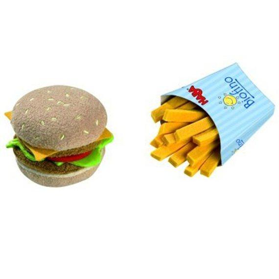 Haba Hamburger avec Frites pour Zélie et Sixtine