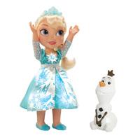 Poupée Elsa avec Olaf pour Zélie