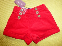 Short Sergent Major - Taille 4 ans