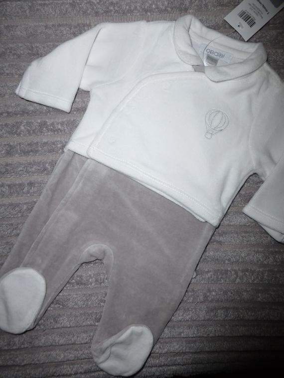 Pyjama OBAIBI - Taille 1 mois