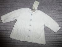 Manteau en laine double polaire neuf avec etiquettes (Taille 3 mois) : 35€ Possibilité d'avoir le bo