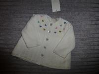 Manteau en laine doublé polaire (Taille 3 mois) neuf avec étiquettes : 35€