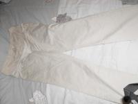 pantalon beige taille 42
