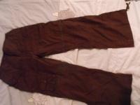 pantacourt marron taille 42
