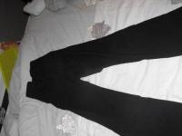 pantalon noir elastane taille 42