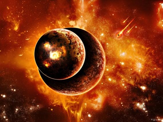 Univers Fond Ecran Rouge Planete 1024x768 Le Ciel Les Etoiles Etc Etoiledusoir Photos Club Doctissimo
