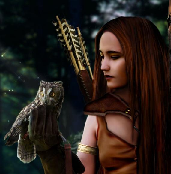 Lady_of_Sherwood_Detail_by_Tammara