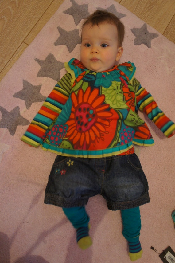 Catimini tshirt tunique legging 12 mois short 6 mois