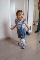 City 2011 salopette et leggings 18 mois, tee shirt 2 ans