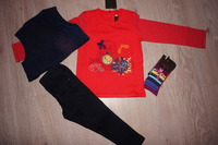 ethnique layette Tee shirt 3 ans cho7 23/24