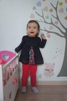 denim hiver 14/15 tunique et legging 2 ans