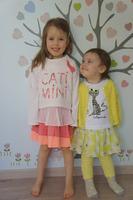 robe 2 en 1 4 ans, ensemble complètement citronné 2 ans
