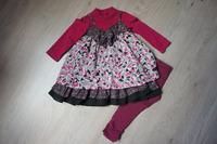 jardin d'hiver robe grand 18 mois, legging 2 ans et cho7 19/22