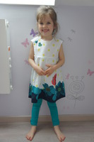 "Ensemble ""princesse papillon"" 3 ans"