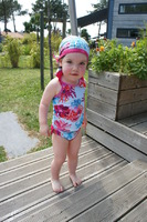 Maillot de bain 3 ans, et fichu T46