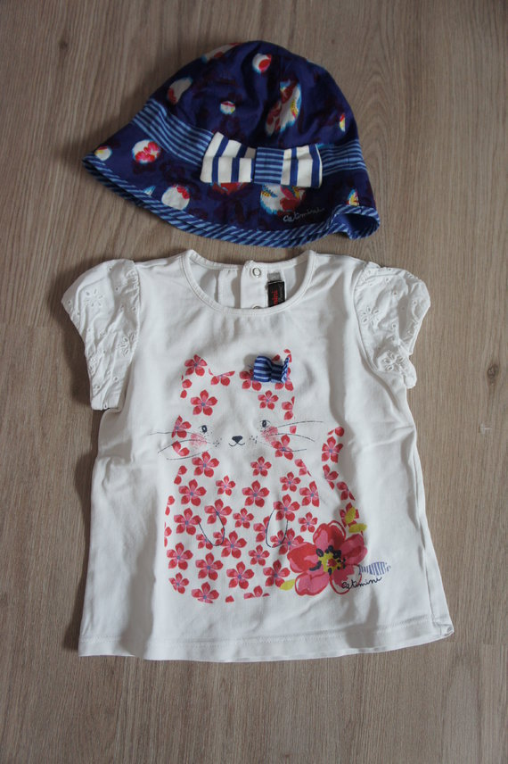 tee shirt 3 ans chapeau T3