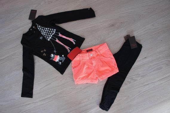 Titi parisien : Tee Shirt 5 ans, Short 3 ans, legging 4 ans