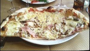 Pizza Reine - (midi).