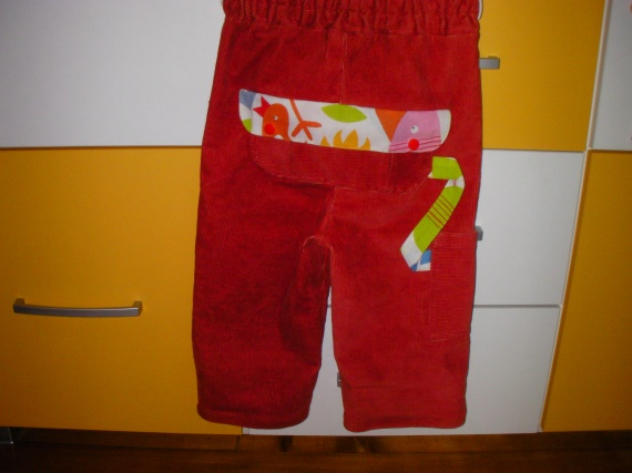 Pantalon parachute_dos