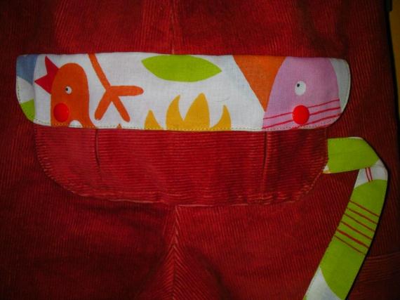 Pantalon parachute_Poche 1