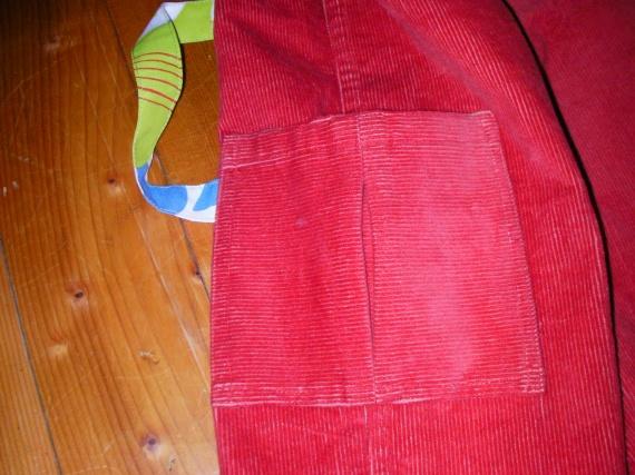Pantalon parachute_Poche 2