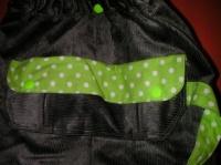 Pantalon parachute gris_Poche dos