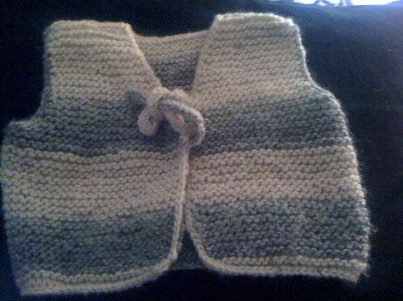 Gilet tricot_Face