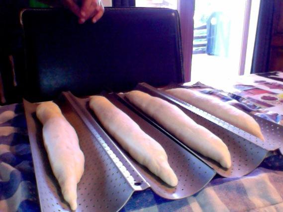 Baguettes avant levée