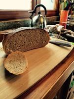 Pain sur pâte fermentée