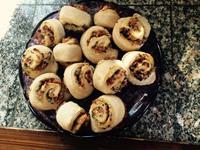 Boules de pain tomates séchées/gran padano/origan