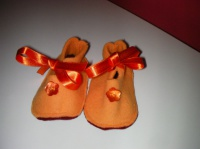 Babies polair orange