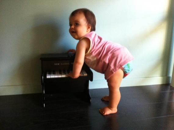 Elle jouait du piano debout