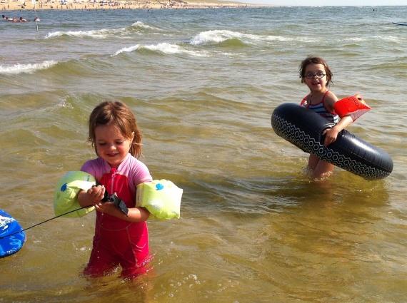 Lulu et Mélie à l'océan