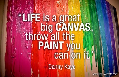 Danny Kaye creativity quote