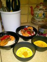 crevettes-poivrons -sauce-curry