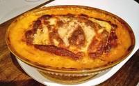 lasagnes 3 legumes et jambon cru fumé