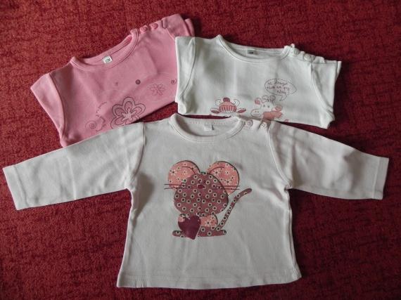 lot t-shirts 1,50€