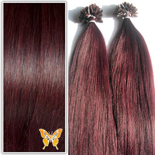 Image couleur de cheveux violine
