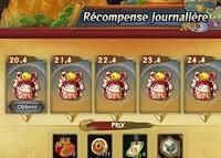 Récompense Journalière