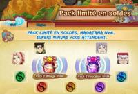 Packs limités