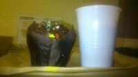 Muffin choco + Cappucino