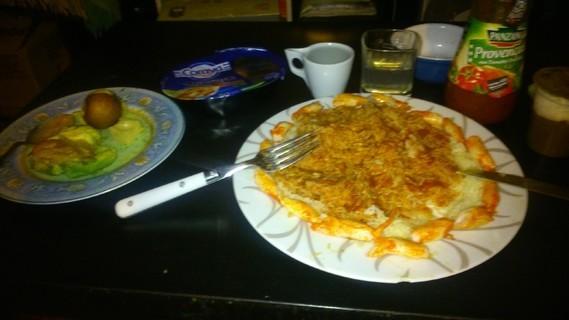 Assiette dressée tant bien que mal ^^