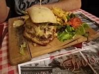 Double burger au maroilles