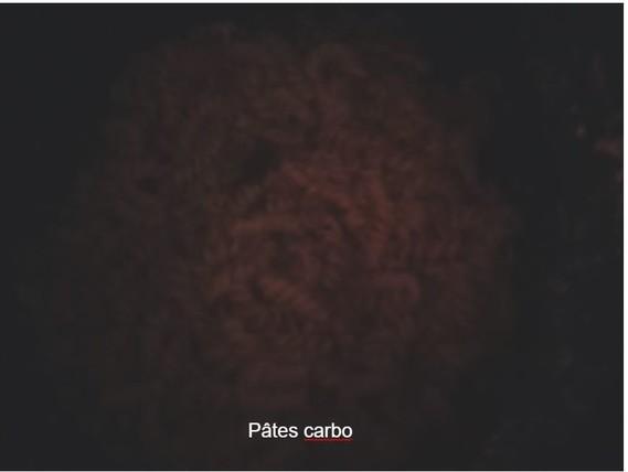 Pâtes carbo 30 Mars