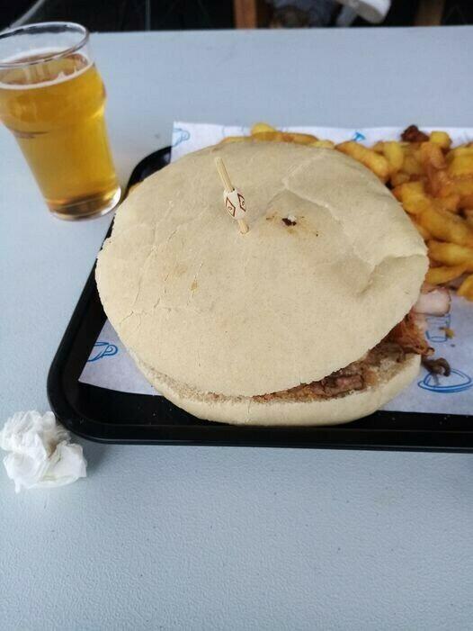 Burger cannibale