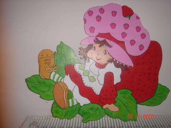 encore charlotte toujours en decoration mural